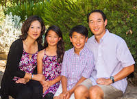 grace yang family photo